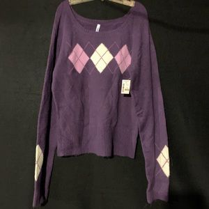 NWT Purple Aeropostale Sweater